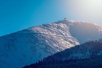 Sniezka peak in Karkonosz
