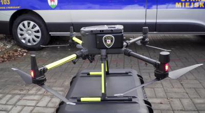 dron dla strazy miejskiej